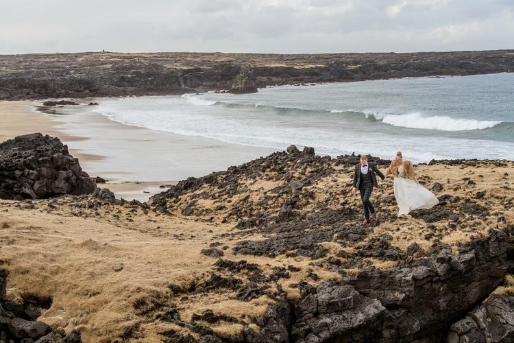 Winter Iceland Destination Wedding 49