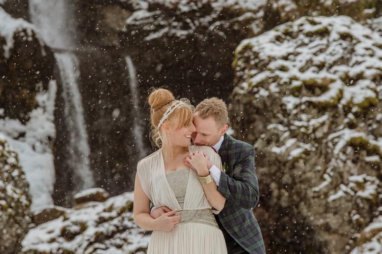 Winter Iceland Destination Wedding 62