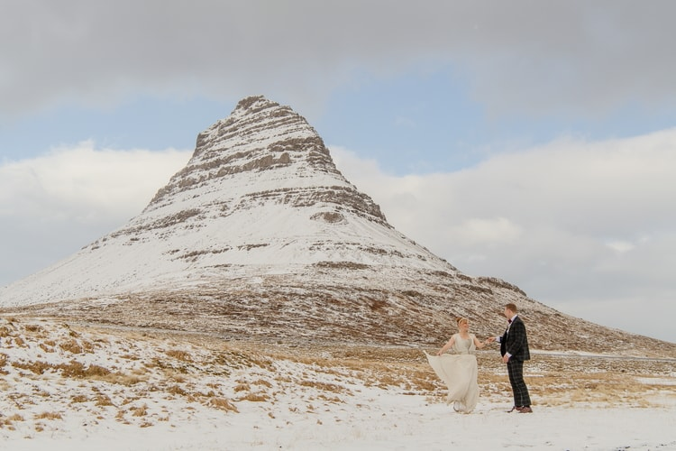 Winter Iceland Destination Wedding 66