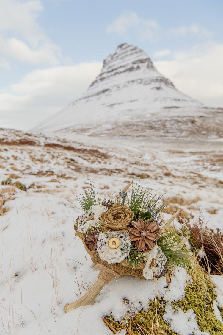 Winter Iceland Destination Wedding 69