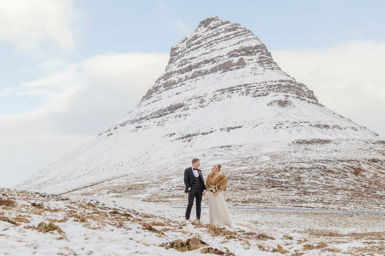 Winter Iceland Destination Wedding 71