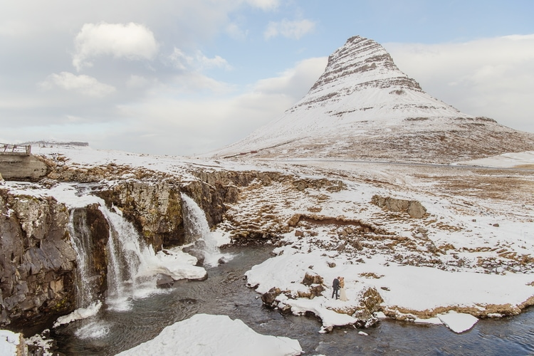 Winter Iceland Destination Wedding 74