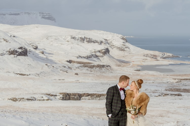 Winter Iceland Destination Wedding 78