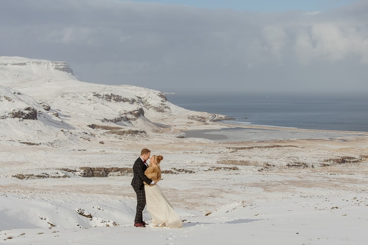 Winter Iceland Destination Wedding 80