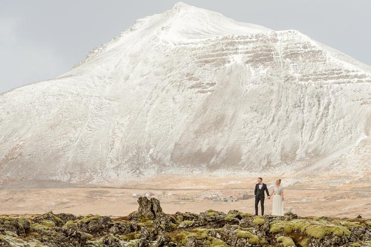 Winter Iceland Destination Wedding 84