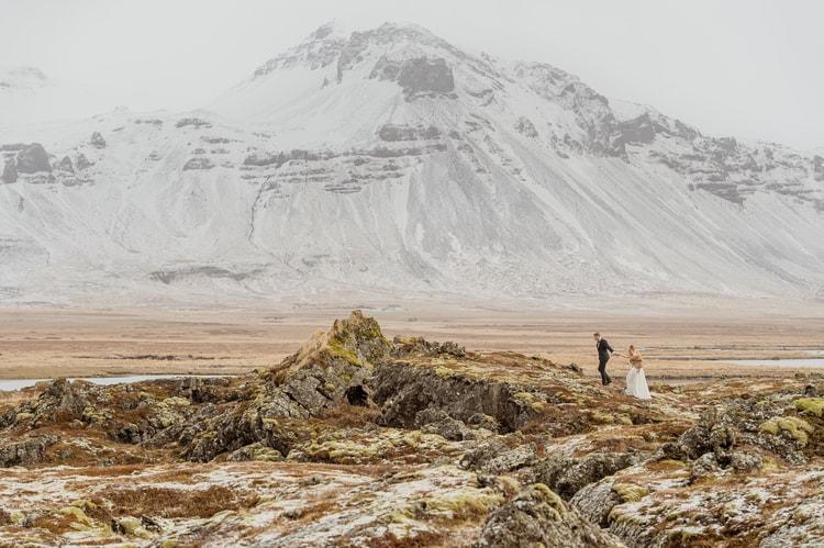 Winter Iceland Destination Wedding 92