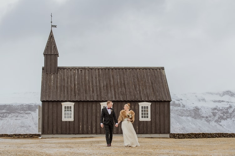 Winter Iceland Destination Wedding 96