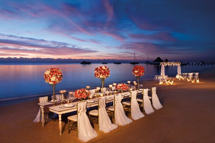 Zoetry destination wedding