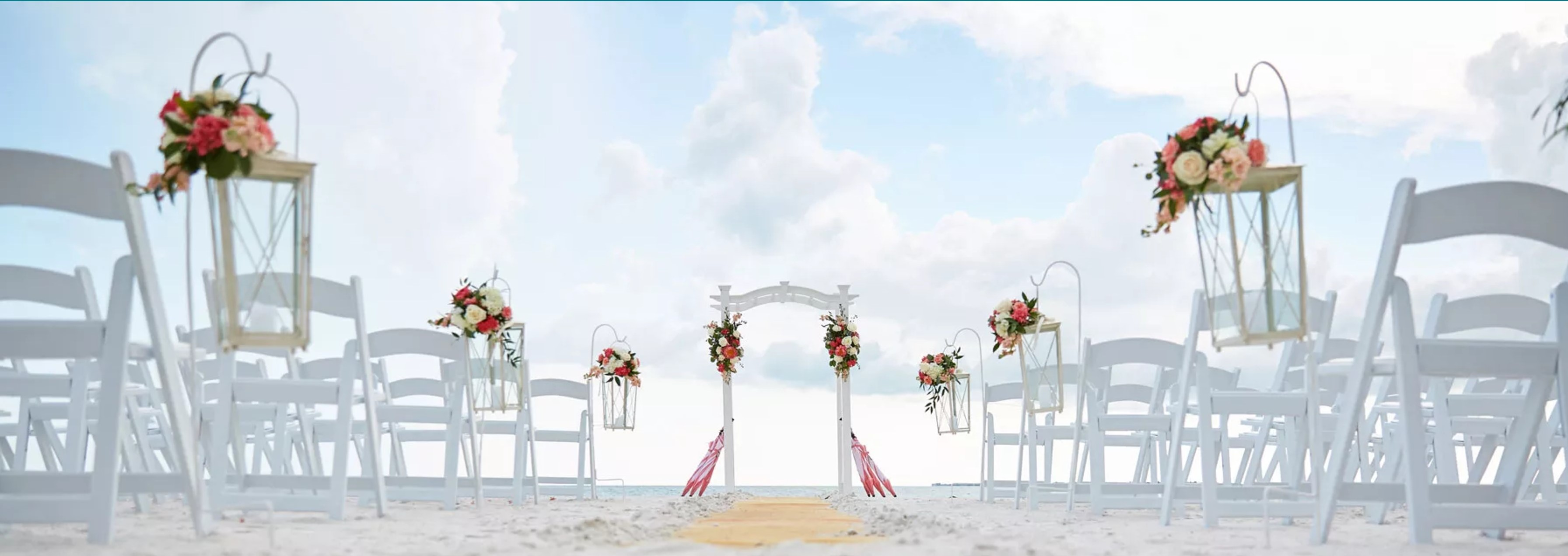 affordable destination wedding on the beach