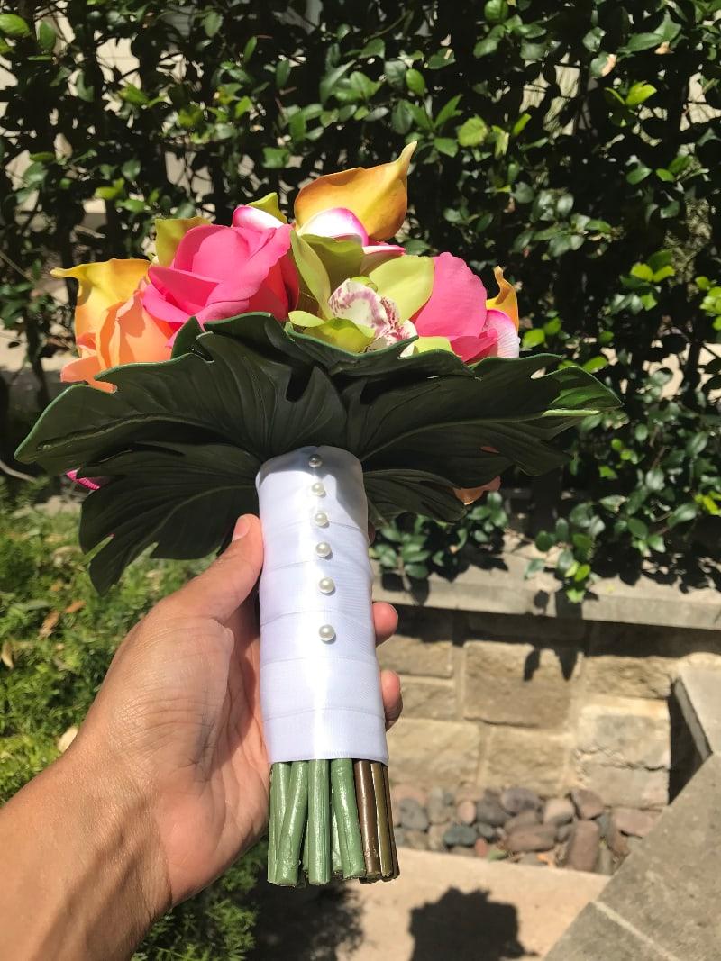 artificial wedding bouquets 1