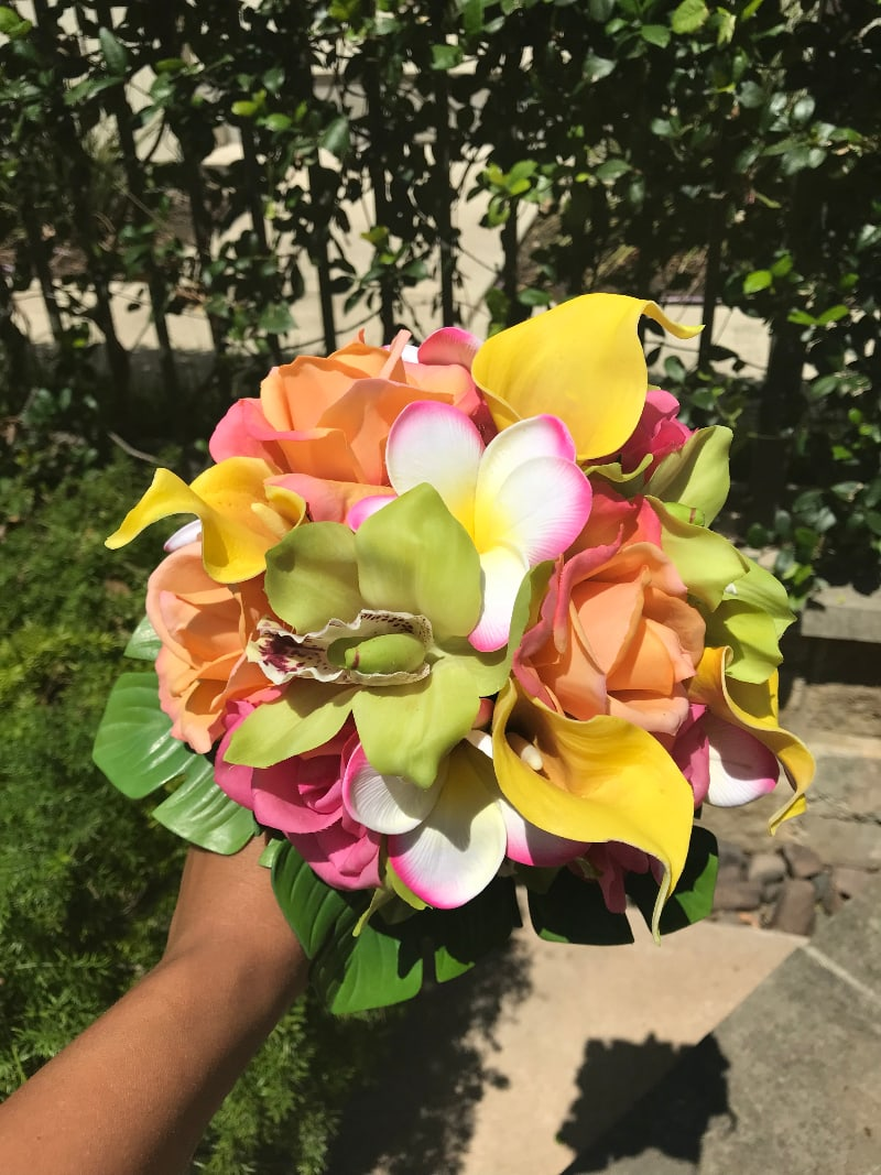 artificial wedding bouquets 2
