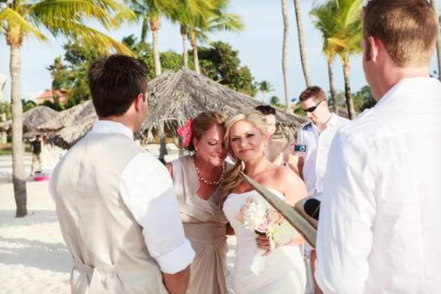 destination wedding in aruba bucuti