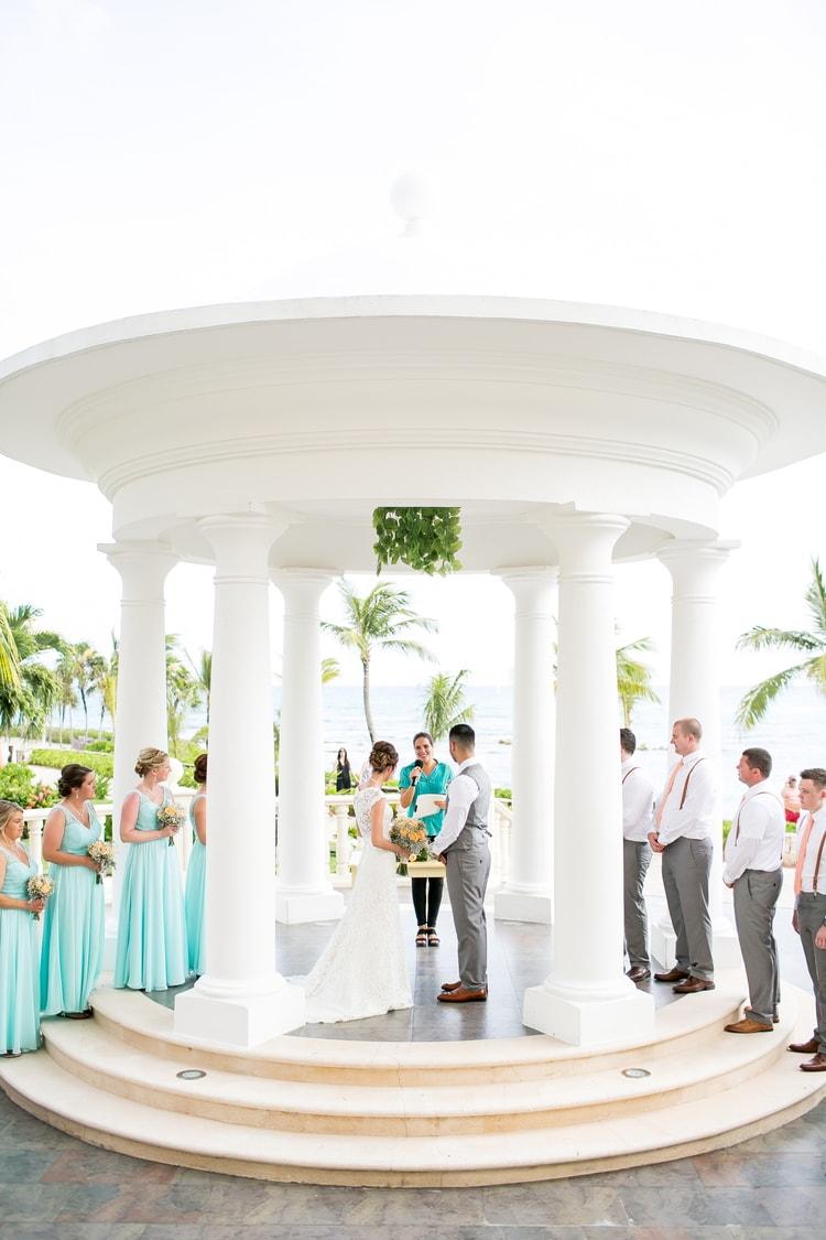barcelo maya destination wedding 38