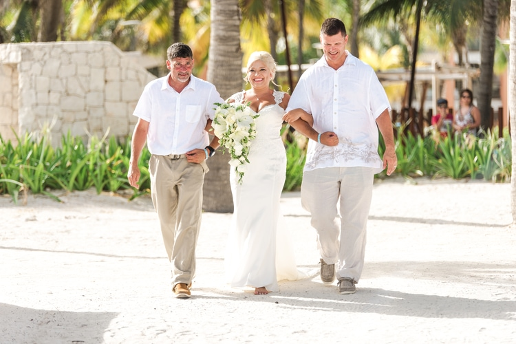 barcelo maya wedding  58