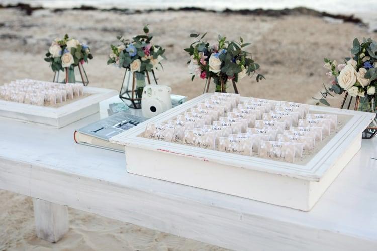 barefoot beach wedding in cancun 58
