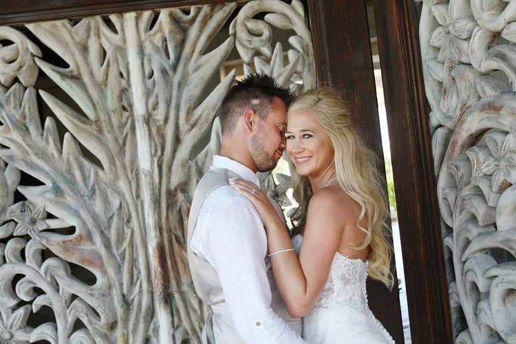 barefoot beach wedding in cancun 65