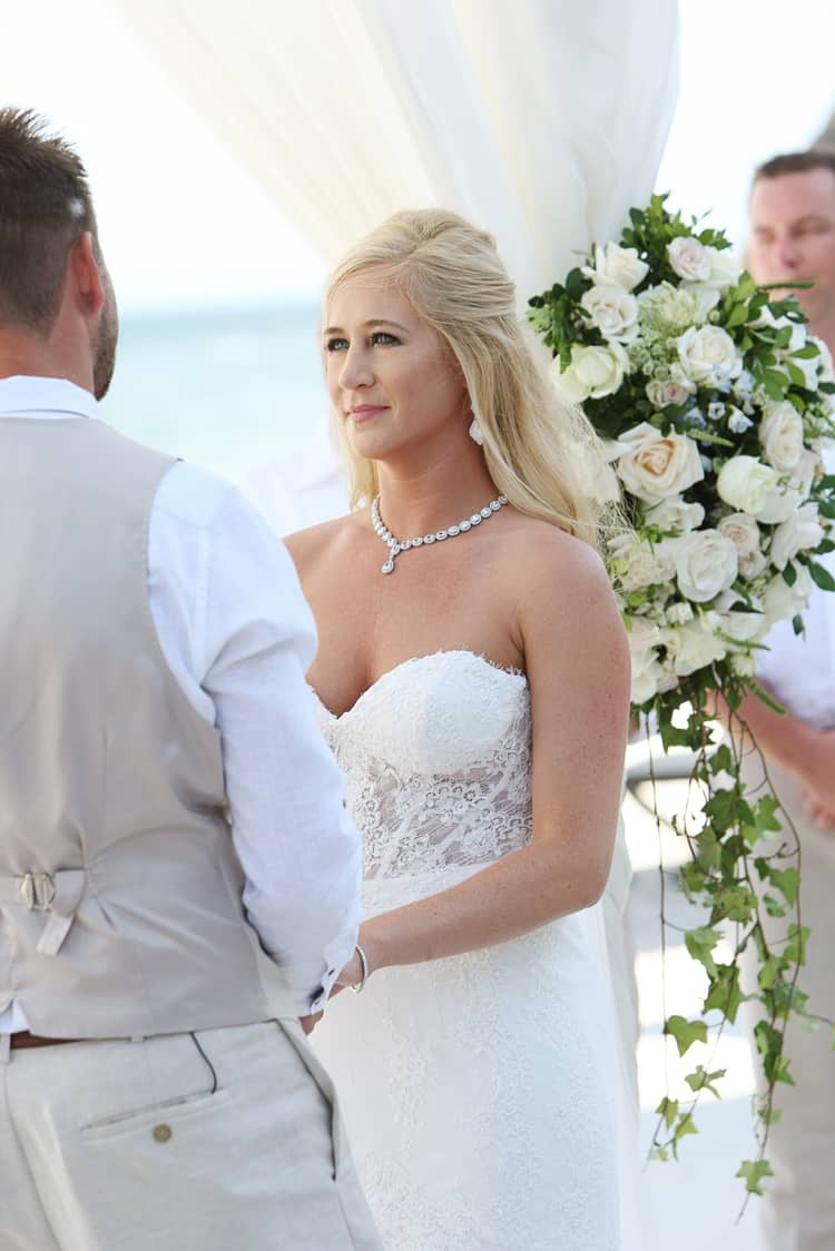 barefoot beach wedding in cancun 81
