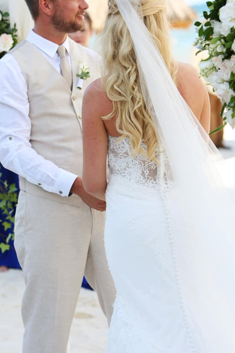 barefoot beach wedding in cancun 84