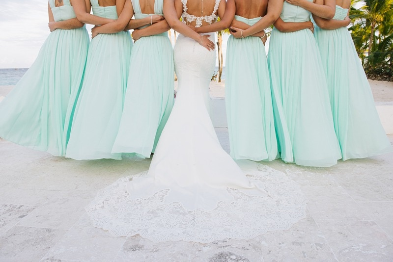 Beach Bridesmaid Dress Photos Tips Destination Wedding Details