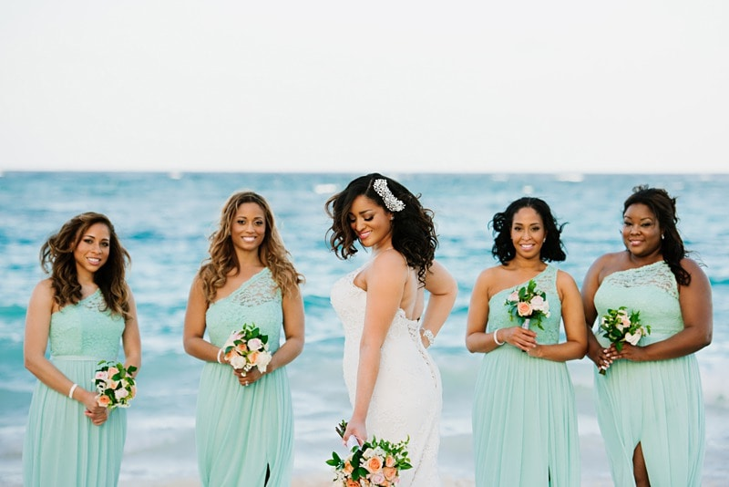 26effd8b7a Beach Bridesmaid Dress Photos & Tips - Destination Wedding Details