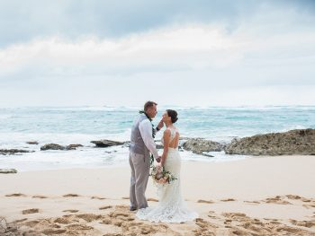 Elegant Destination Wedding at Turtle Bay Resort in Hawaii
