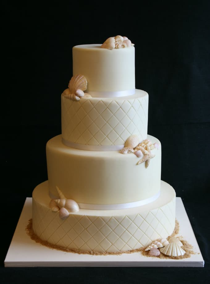 Gallery Of Beach Theme Wedding Cakes Destination Wedding Details