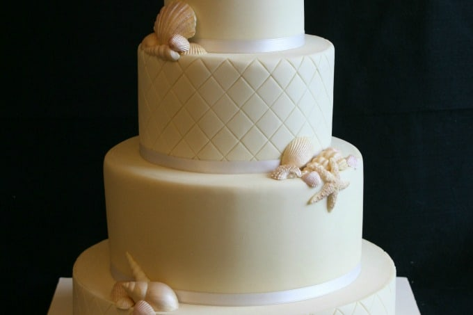 Gallery Of Beach Theme Wedding Cakes Destination Wedding