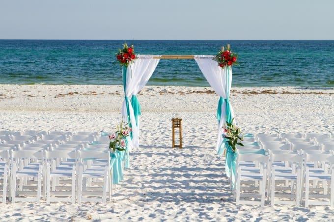 Gorgeous Wedding Arch Decoration Destination Wedding Details