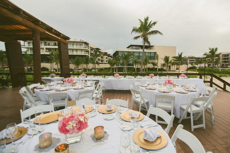 beach wedding at Royalton Riviera Cancun 126