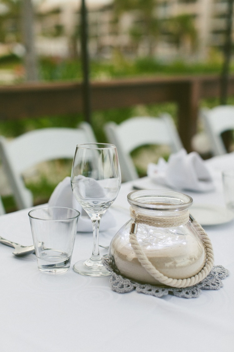 beach wedding at Royalton Riviera Cancun 128