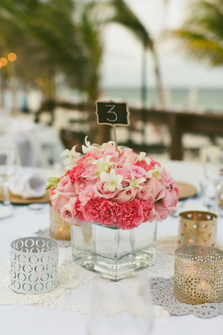 beach wedding at Royalton Riviera Cancun 129