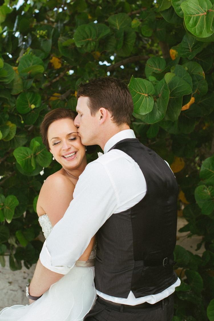 beach wedding at Royalton Riviera Cancun 151