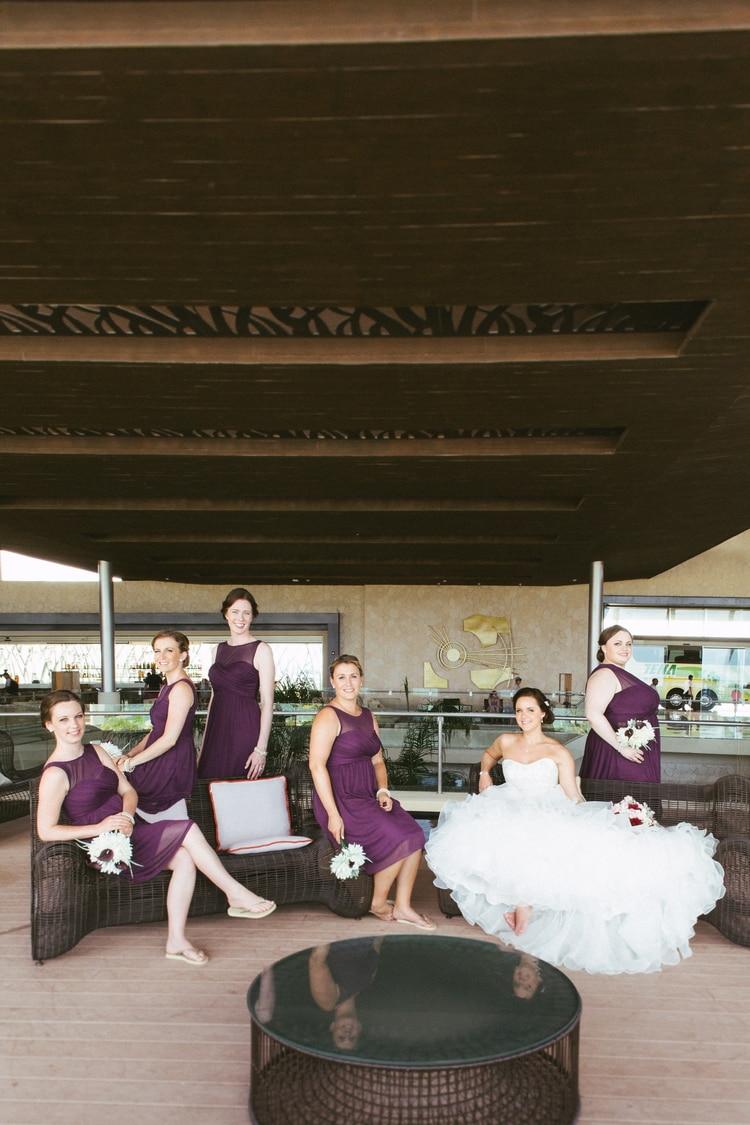 beach wedding at Royalton Riviera Cancun 167