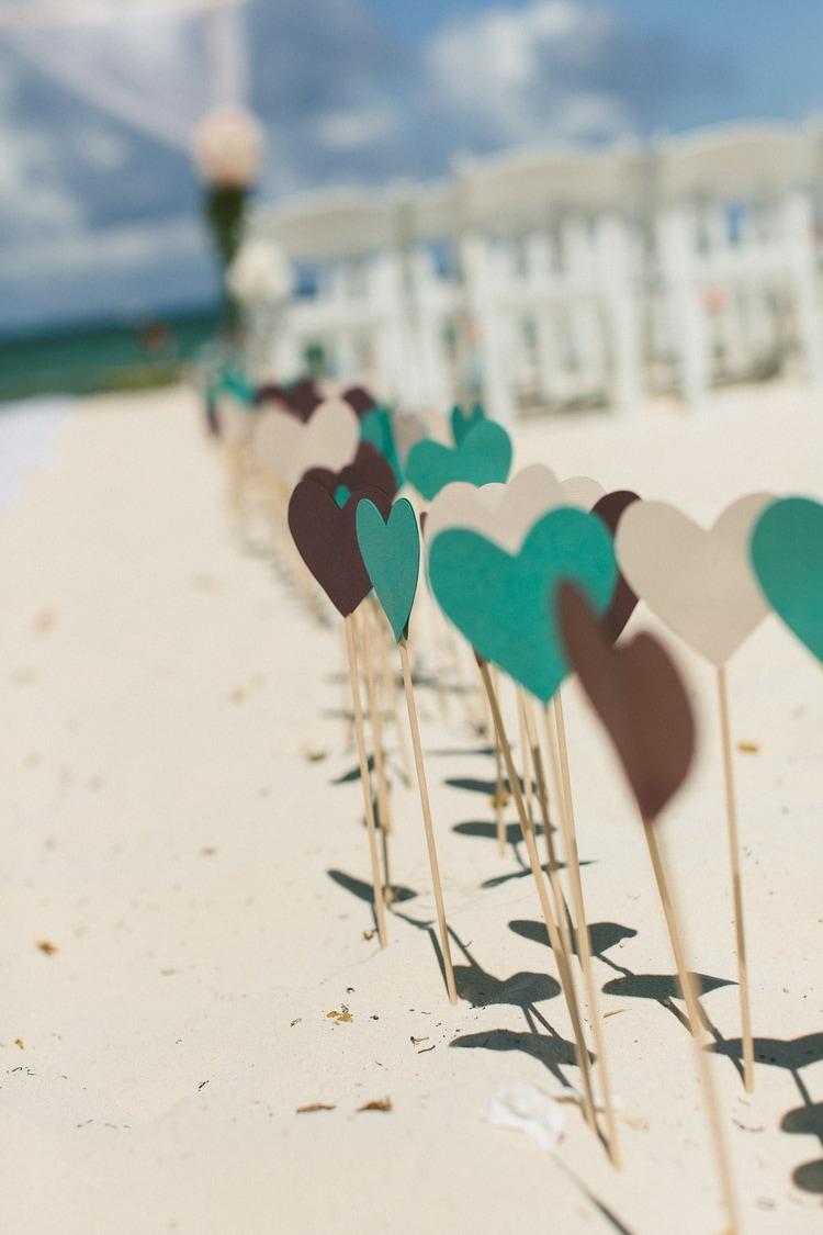 beach wedding at Royalton Riviera Cancun 198