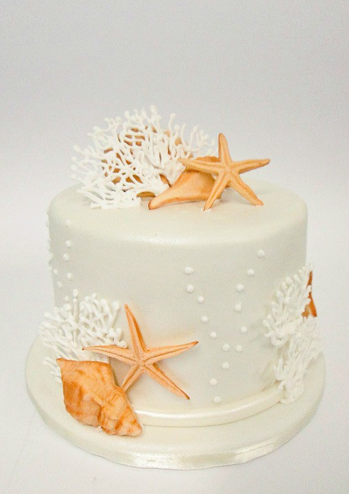 beach wedding cake1