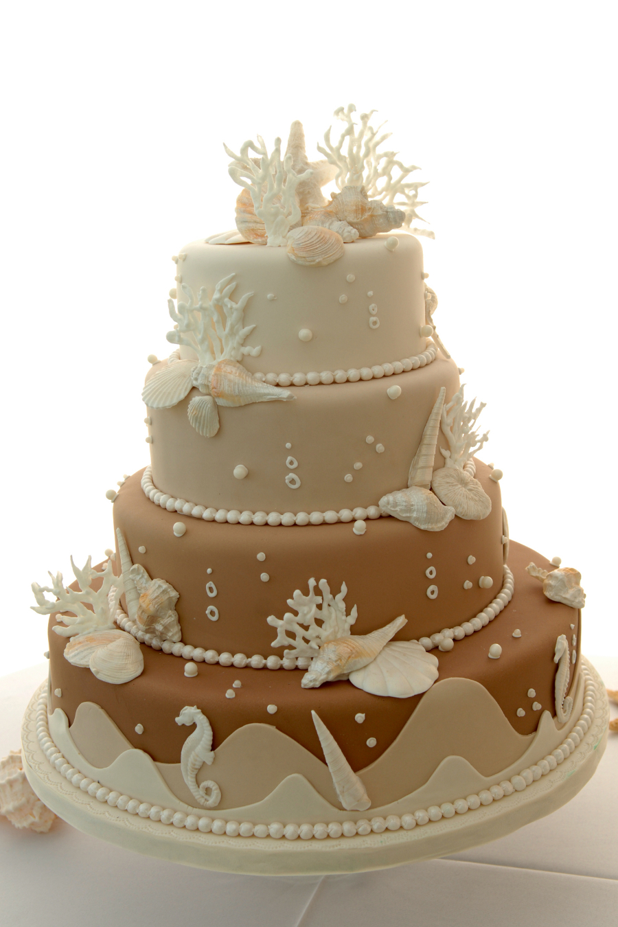 beach wedding cake4