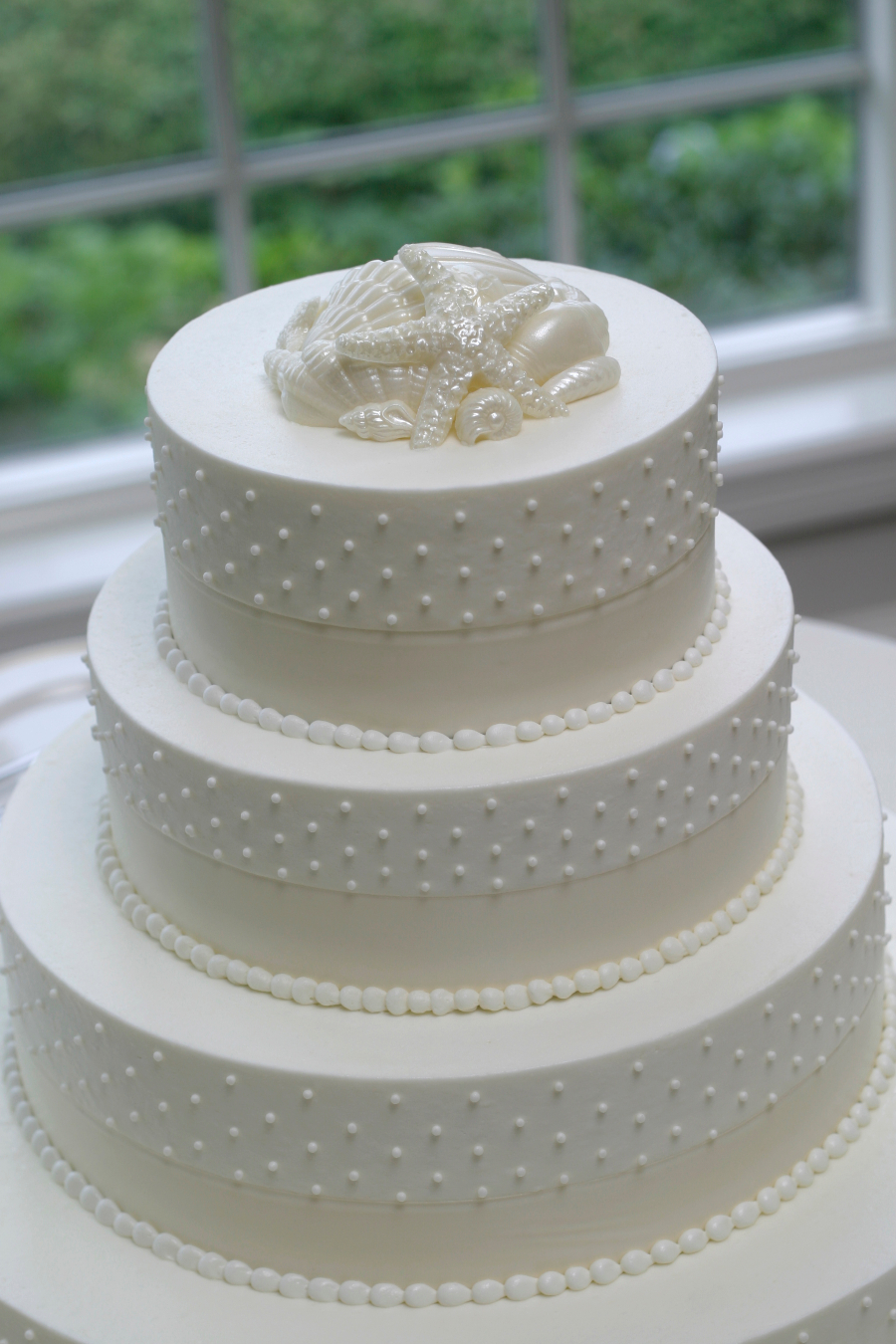 beach wedding cake5