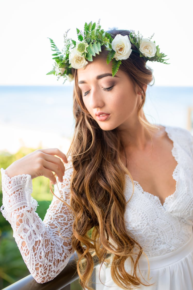 beach wedding hairstyles 18
