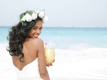 23 Gorgeous Beach Wedding Hairstyles from Real Destination Weddings