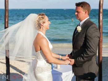Beautiful Beach Wedding in Cancun