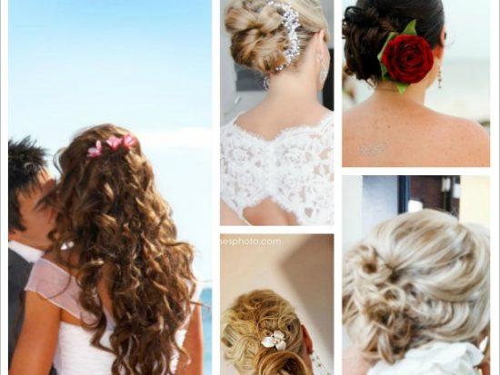 5 best beach wedding hairstyles