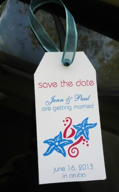 best destination wedding save the date 1
