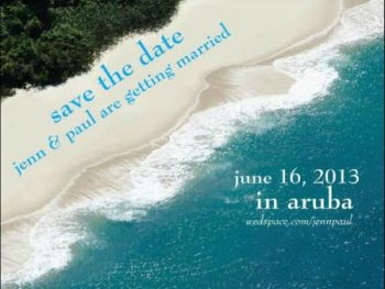 5 best destination wedding save the date - #3