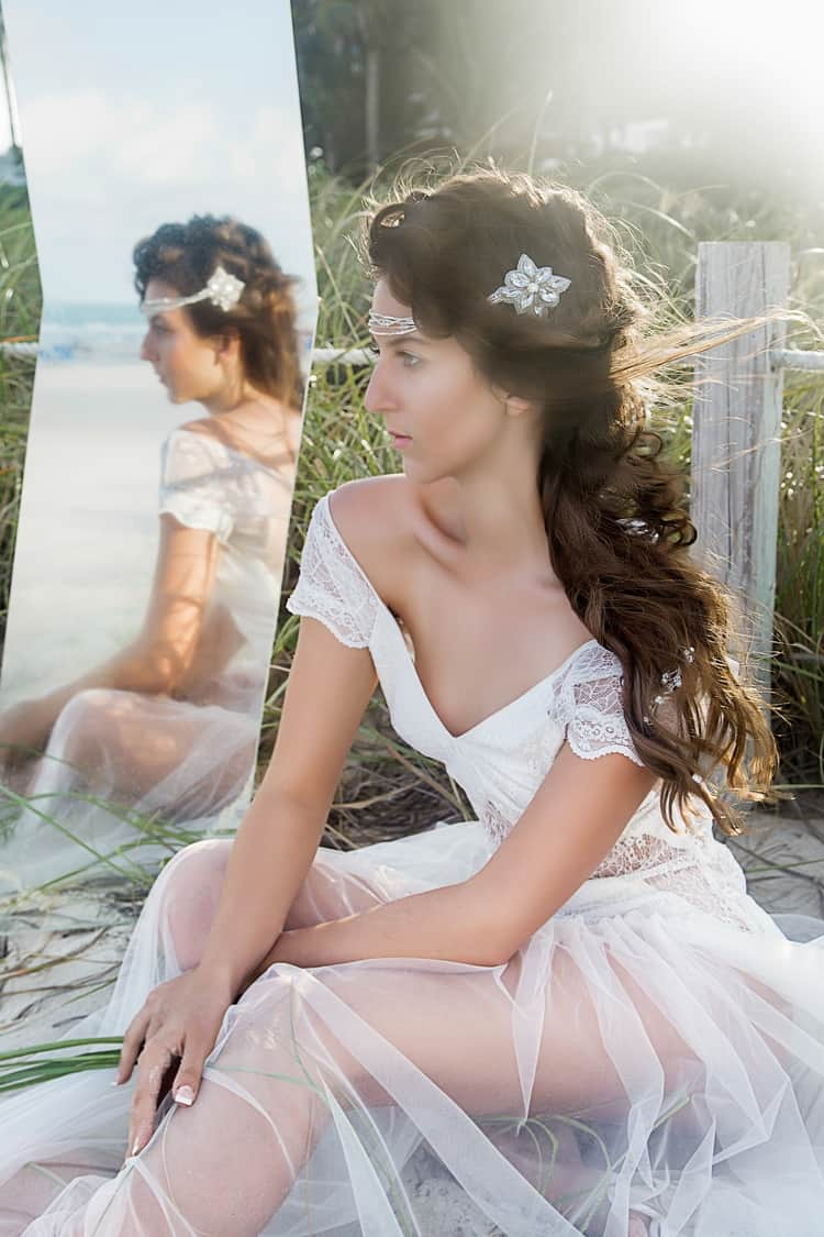 Boho Beach Wedding Hair Inspiration
