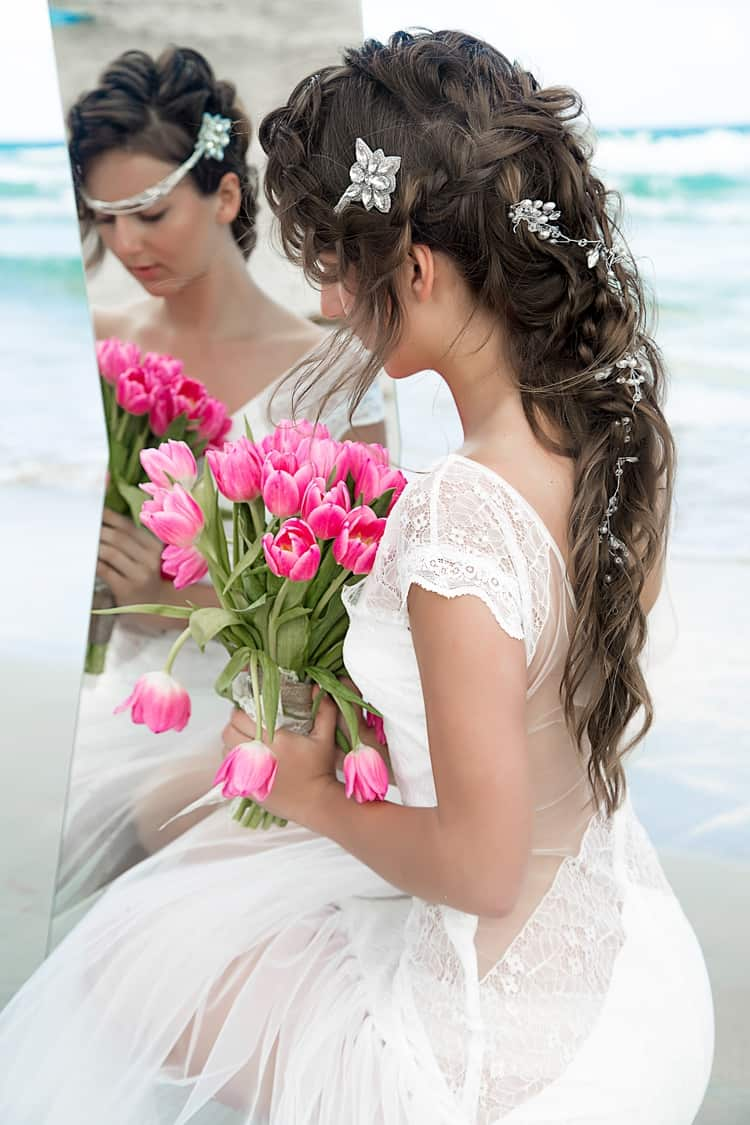 boho beach wedding hair inspiration 10