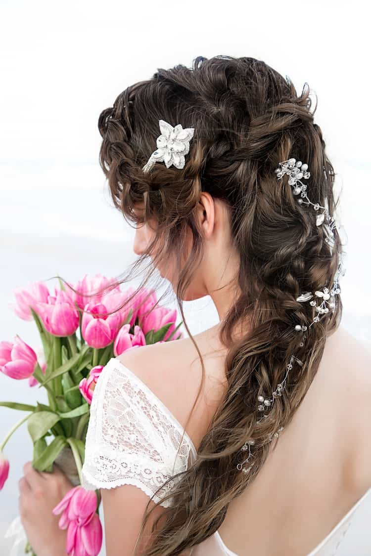 boho beach wedding hair inspiration 11