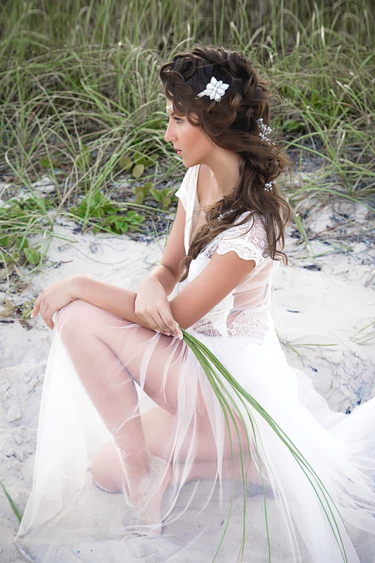 boho beach wedding hair inspiration 2