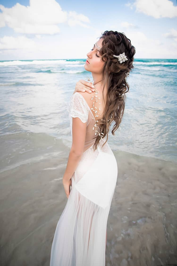 boho beach wedding hair inspiration 5