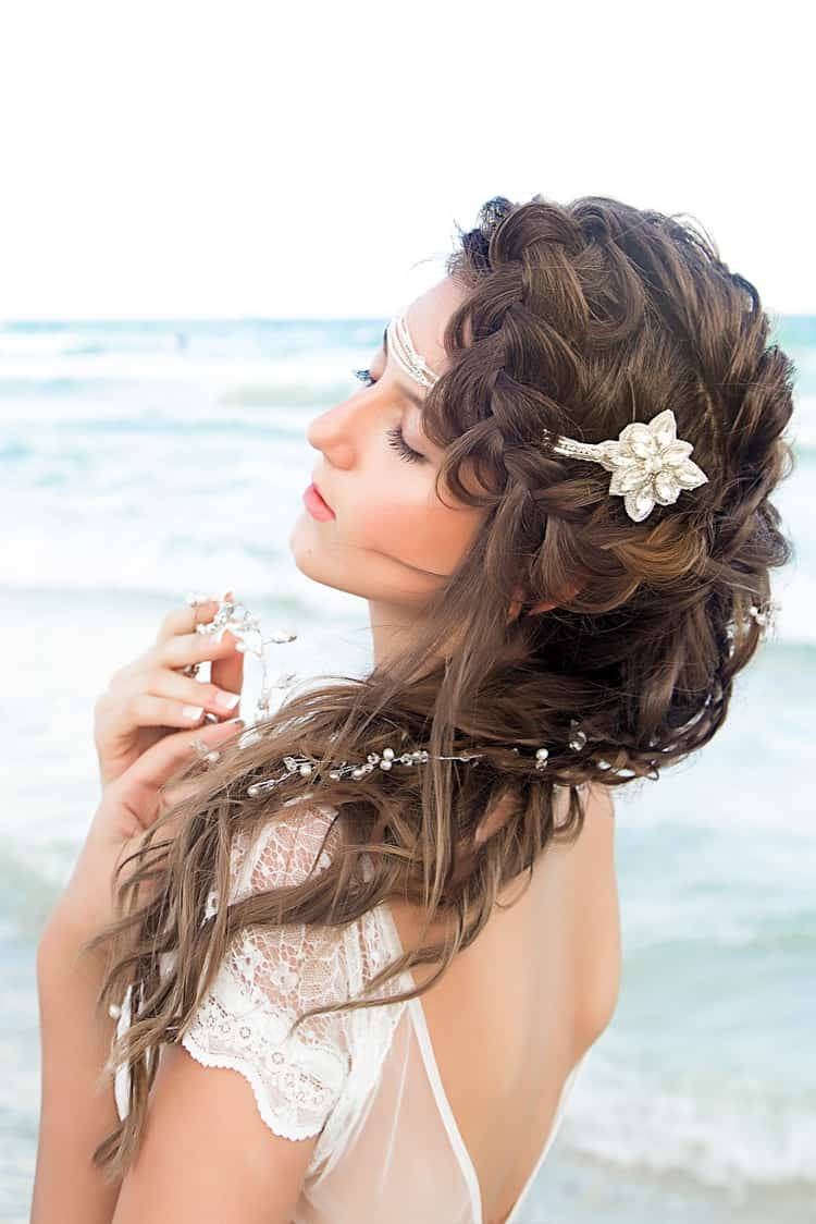 boho beach wedding hair inspiration 6