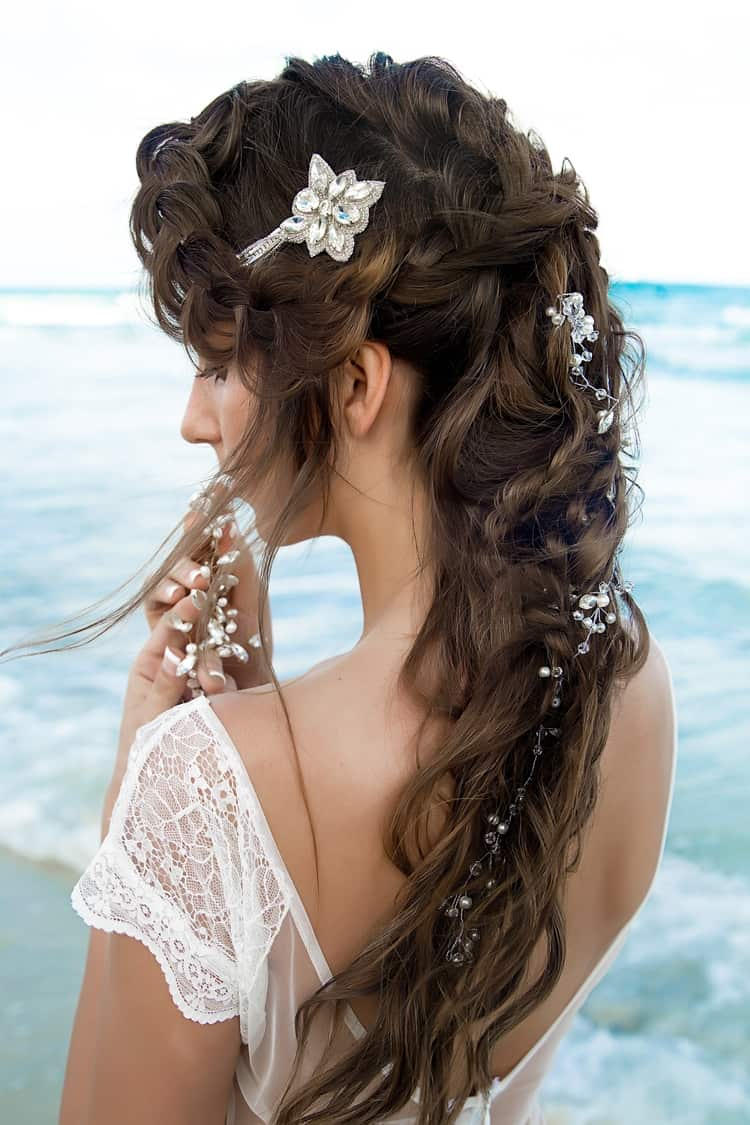 boho beach wedding hair inspiration 7